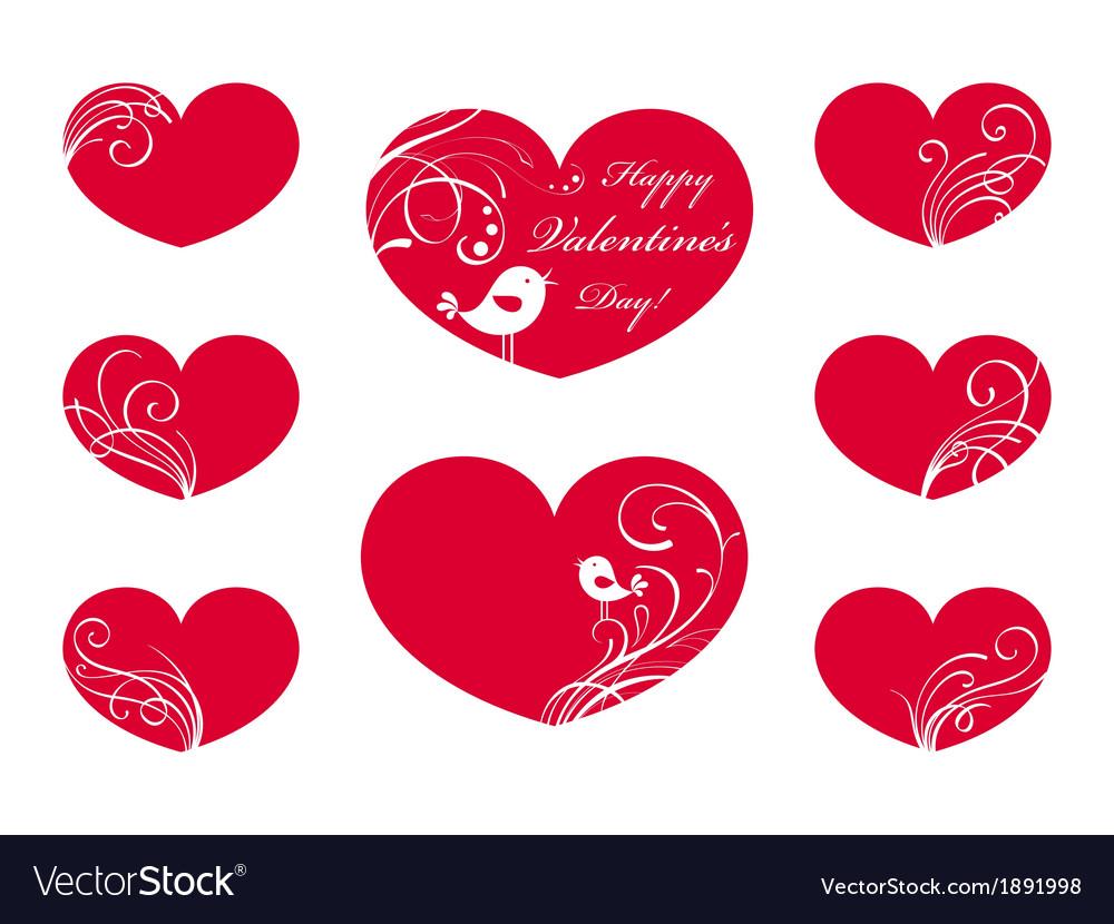 Ornate hearts vector   Price: 1 Credit (USD $1)