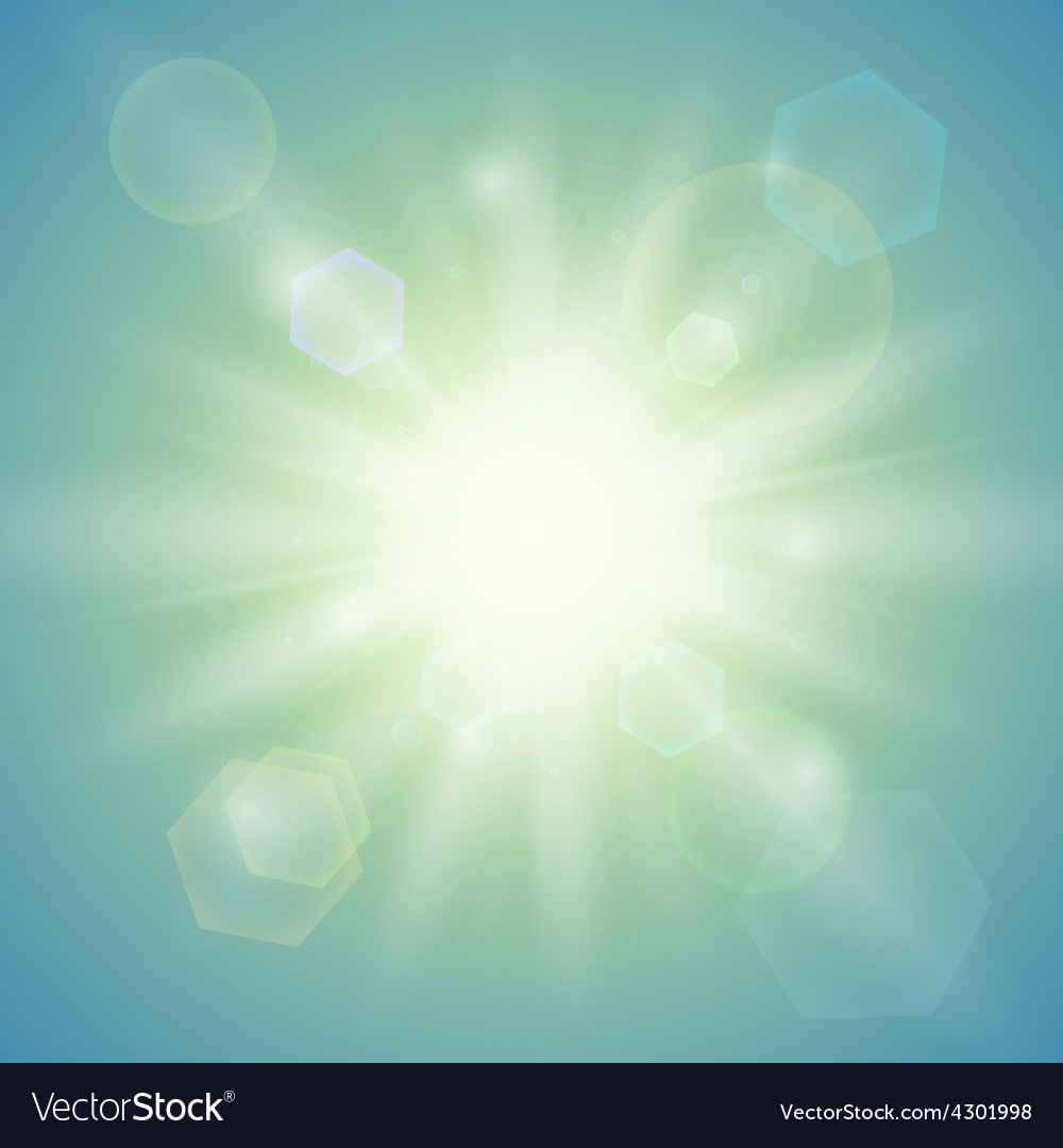 Summer sun abstract background vector | Price: 1 Credit (USD $1)