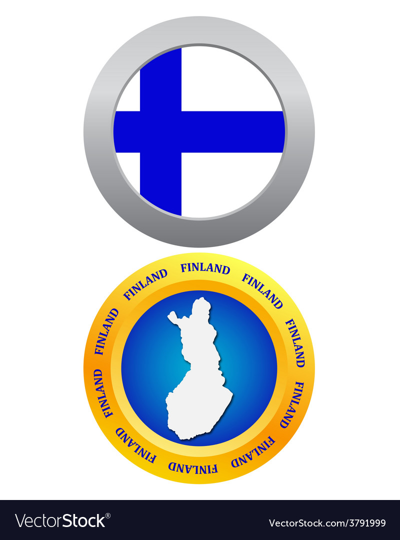 Button as the character finland vector | Price: 1 Credit (USD $1)