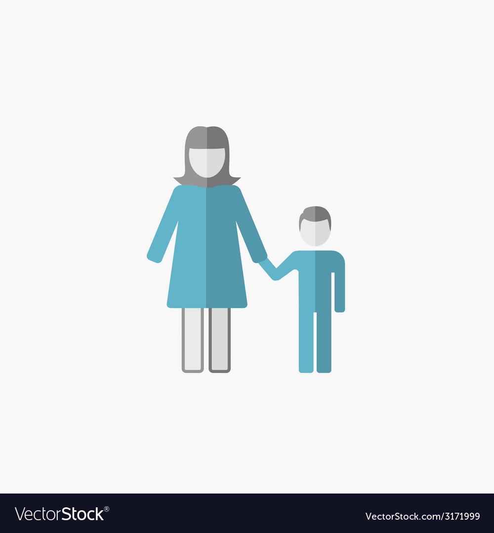 Maternity flat icon vector   Price: 1 Credit (USD $1)