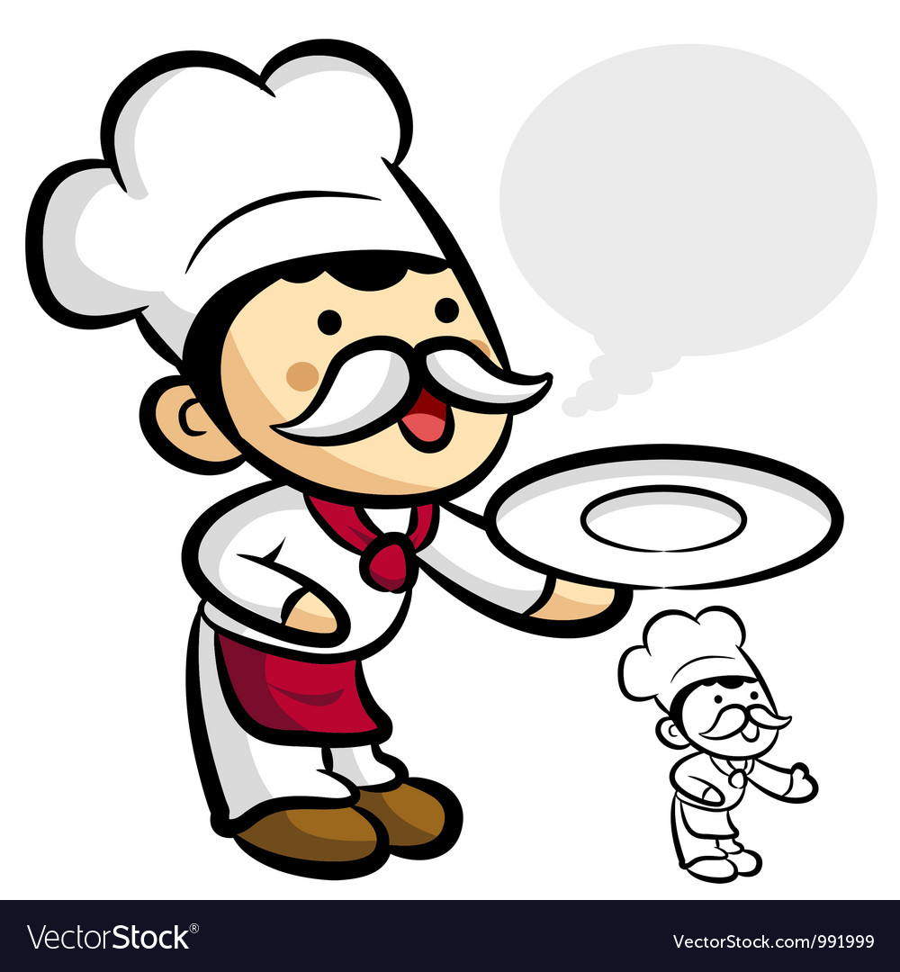 Worry that chef character vector   Price: 3 Credit (USD $3)