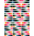 Geometric striped background vector