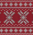 Christmas sweater design seamless pattern vector
