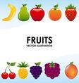 Fruits design vector