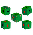 Five dice vector