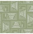 Tickets seamless pattern abstract texture art vector