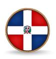 Dominican republic seal vector