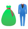 Carnival suits vector