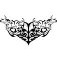 Bull in tribal style - image vector