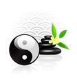 Feng shui background vector