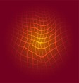 Red grid patterns background vector