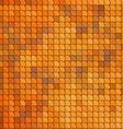 Seamless pattern with orange tiles vector