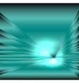 Star burst light on blue background vector