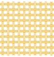 Seamless rope or thread pattern vector
