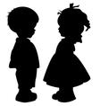 Boy and girl vector