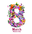 8 march womens day vector