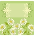 Flower holiday background vector