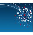American starburst background vector
