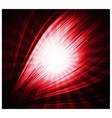 Abstract red background beautiful rays of light vector
