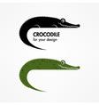 Crocodile icon vector
