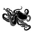 Ocean octopus vector