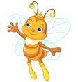 Queen bee showing vector