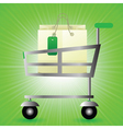 Shop basket vector