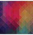 Triangle neon geometric background vector