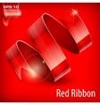 Red serpentine vector
