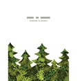 Evergreen christmas tree christmas tree silhouette vector