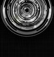 Dark technology abstract background vector