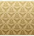 Seamless retro background pattern vector