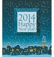 2014 happy new year vector