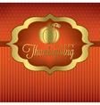 Happy thanksgiving card vector