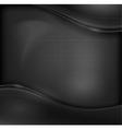 Metal black background vector