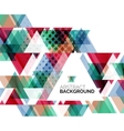 Triangle geometric abstract background vector