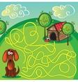 Cartoon of education maze vector