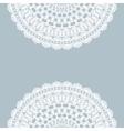 Vintage lace invitation card vector