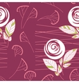 Seamless vintage rose pattern background vector