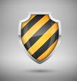 Glass shield vector