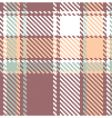 Seamless textured tartan plaid pattern vector