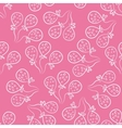 Seamless pattern with balloons cute doodle style vector