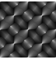 Design seamless monochrome convex pattern vector