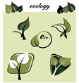 Ecological symbols vector