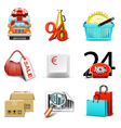 Shopping icons | bella series vector