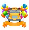 American school bus vector