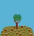 Last tree vector