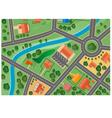 Suburb map vector