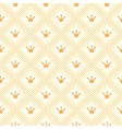 Simple seamless pattern with crown orange and vector