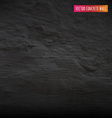 Black concrete wall vector